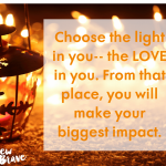 Choose the light in you image